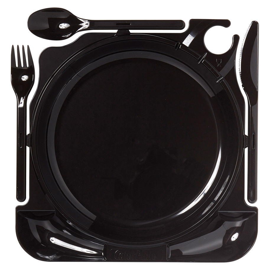 CATER PLATE BLACK