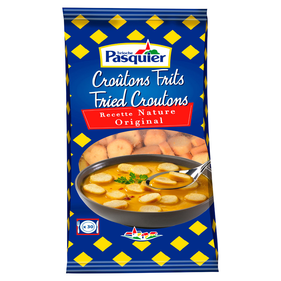 CROUTONS RONDS FRITS NATURE 28MM