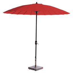 COLUMBIA PARASOL D260CM GREY / RED