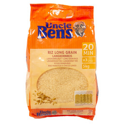 WHITE LONG GRAIN RICE UNCLE BEN'S