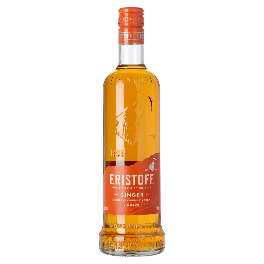 ERISTOFF GINGER VODKA