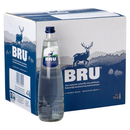 BRU MINERAL NON-CARBONATED 75 CL