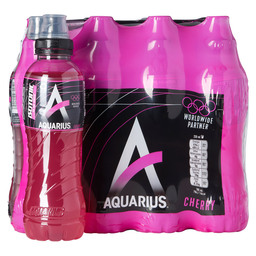 AQUARIUS ISOTONIC CHERRY 50CL PET