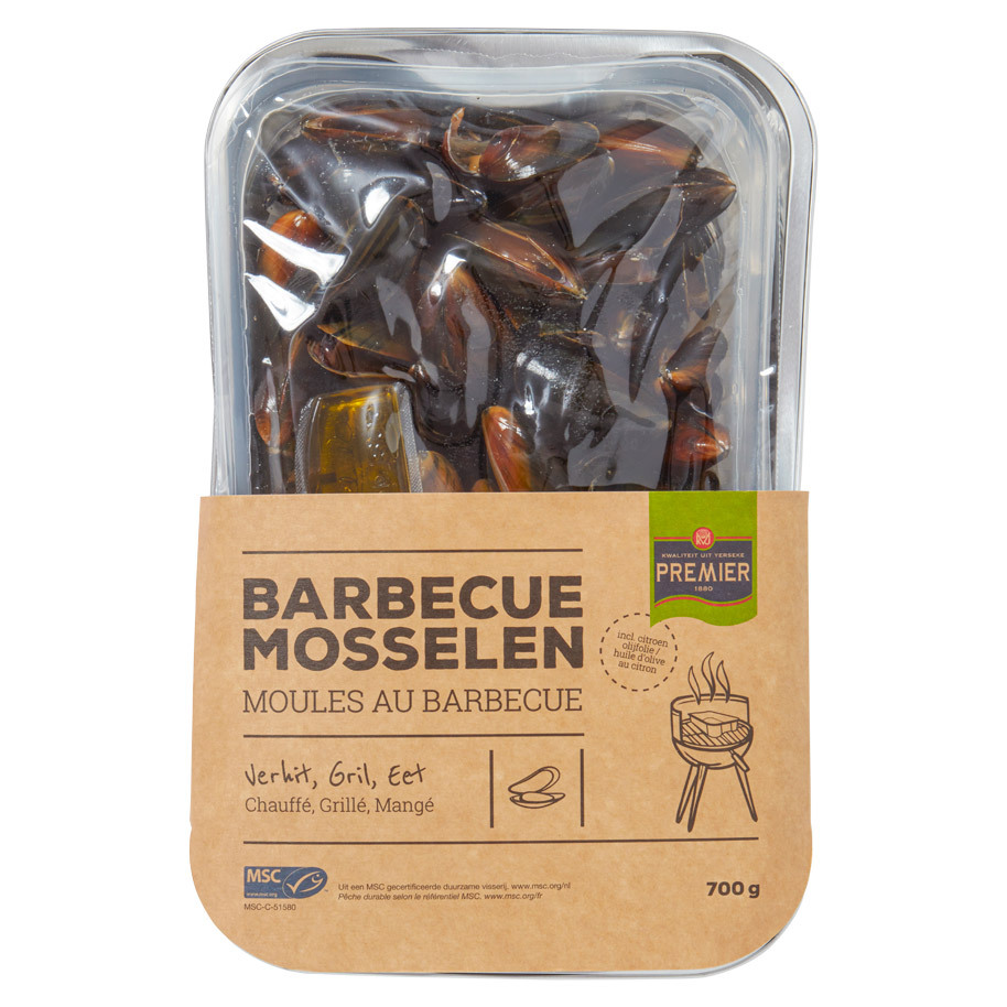 MUSSELS BARBECUE