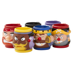 KIDDIES MUG WITH HANDLE PIRATES