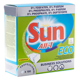 SUN P.F. VAATWASTABLETTEN ALL-IN-1 ECO