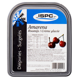 ICE-CREAM AMARENA CHERRY ISPC