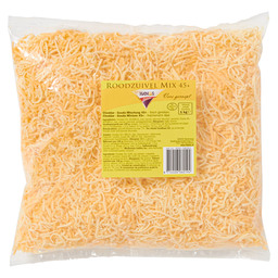 CHEESE GRATED RED DAIRY MIX 3 MM