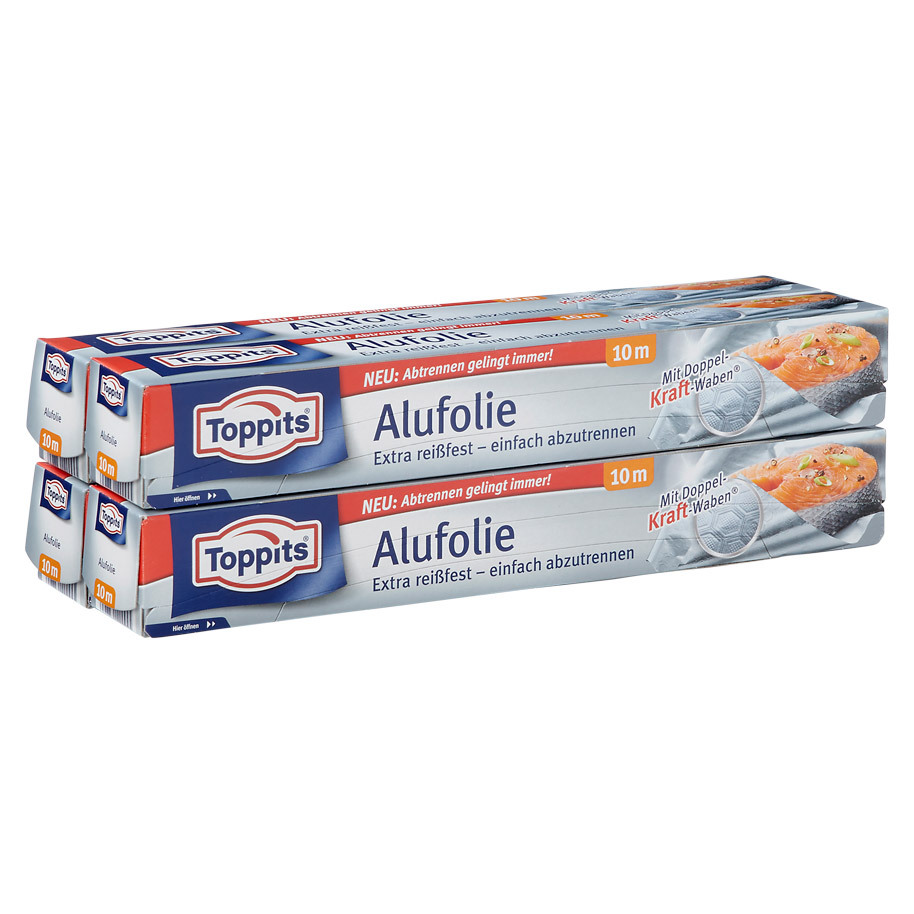ALU FOIL RELIEF 10 M TOPPITS