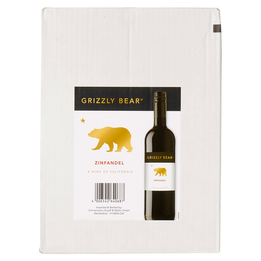 GRIZZLY BEAR ZINFANDEL