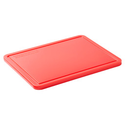 CUTTING BOARD RED STERICARE 1/1GN