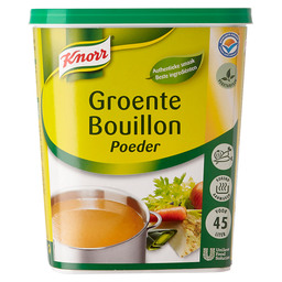 VEGETABLE BROTH POWDER AUTH. KNORR 45L