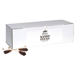 KANDISZUCKER CANDY STICK BRAUN