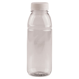 PET BOTTLE TRP 330 ML WITH CAP