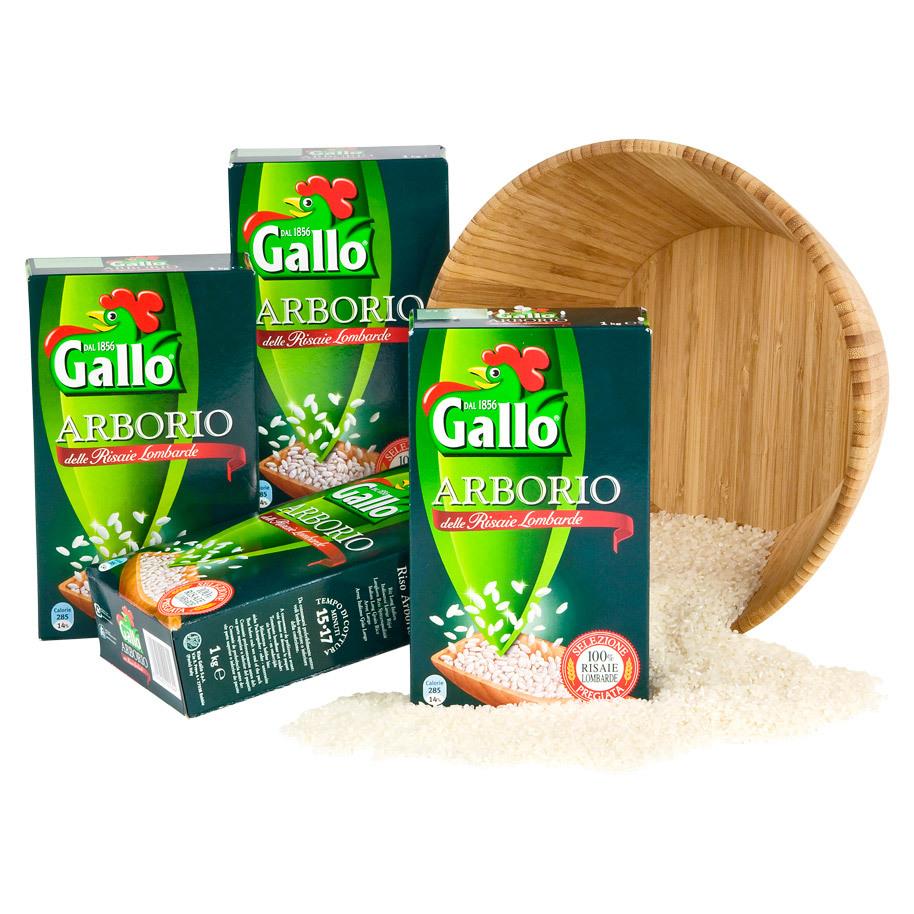 RISO ARBORIO GALLOPARBOILED