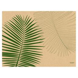 PLACEMAT GRASS PAPER 30X40CM LEAF