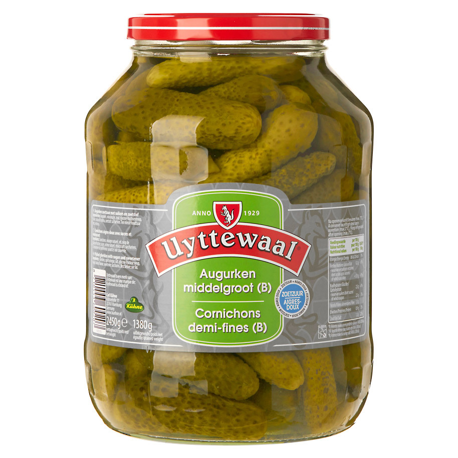 PICKLES B SWEET AND SOUR