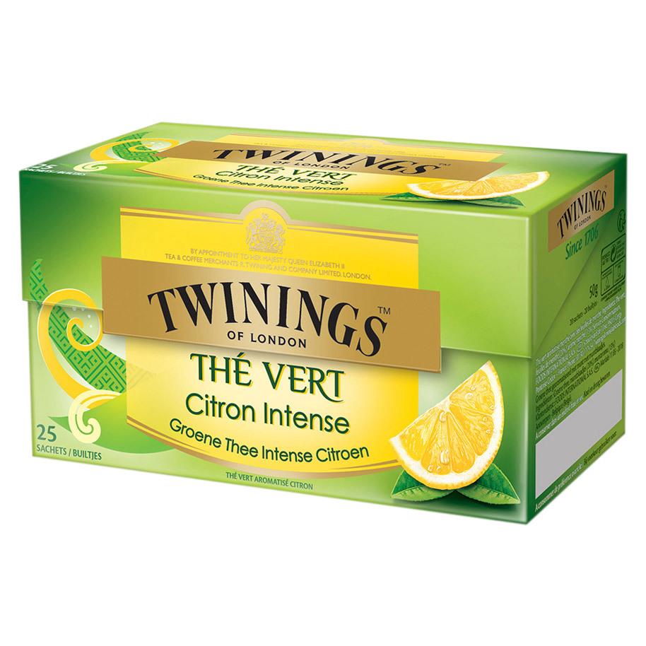 THE GREEN LEMON TWININGS