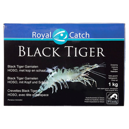 BLACK TIGER HOSO SHRIMP MET CUP 8/12