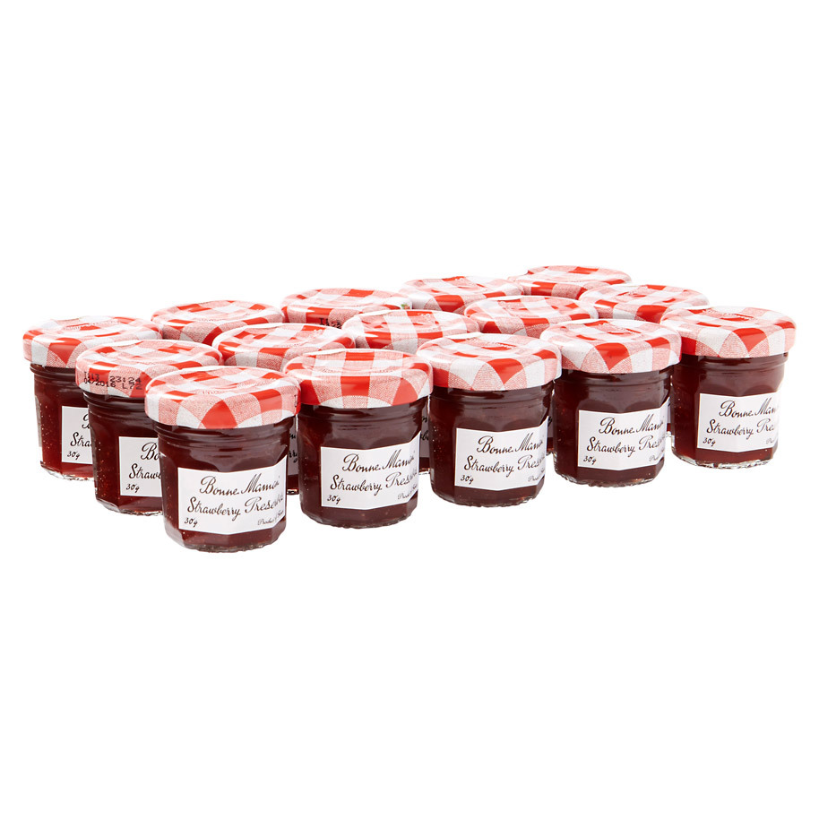 AARDBEIEN CONFITURE MINI 30GR
