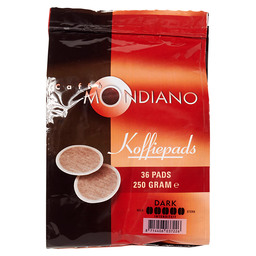 COFFEE DARK ROAST PADS CAFFE MONDIANO