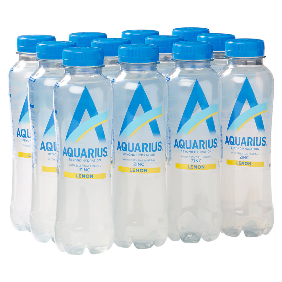 AQUARIUS HYDRATION LEMON 40CL PET