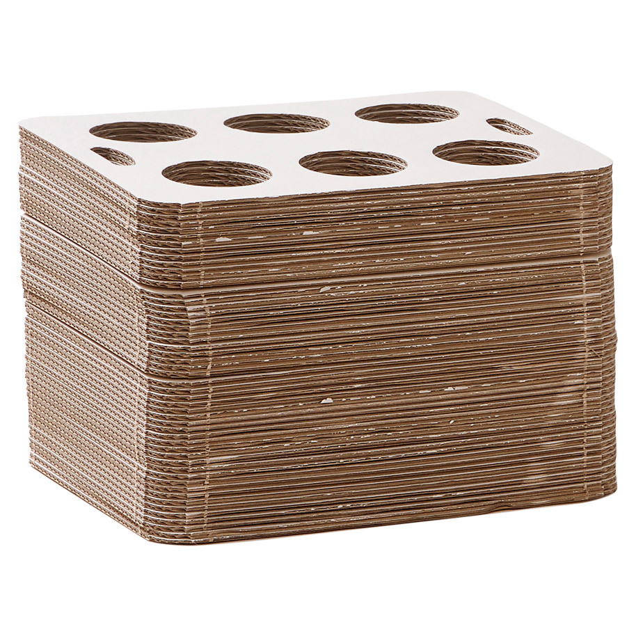 CARRY TRAY CARDBOARD 6-HOLE