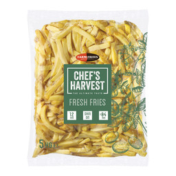 FRITES CHEF'S HARVEST 12MM SKIN-ON 2X5KG