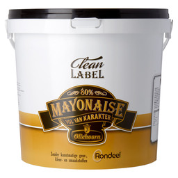 MAYONAISE 80% CLEAN LABEL