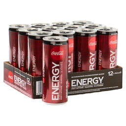 COCA COLA ENERGY NO SUGAR 25CL