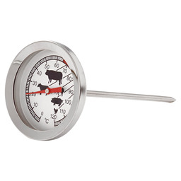 VLEESTHERMOMETER RVS  LIFETIME COOKING