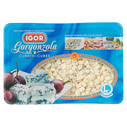 CUBES OF GORGONZOLA DOLCE PDO
