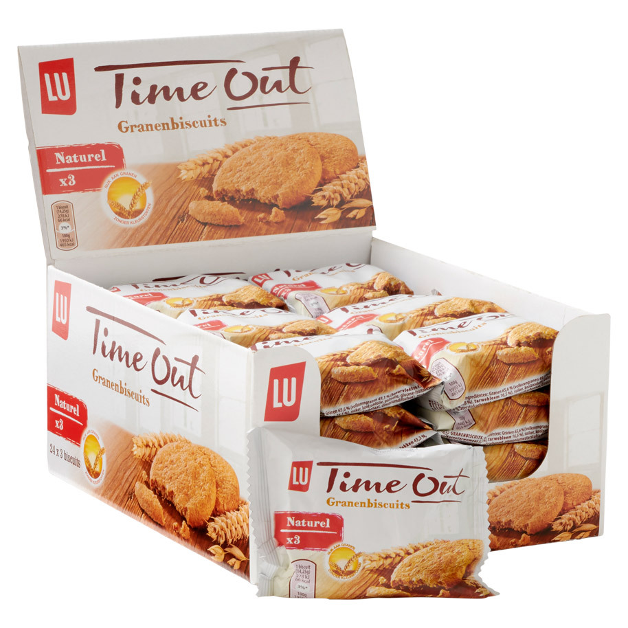 TIME OUT NATUREL  GRANENBISCUITS