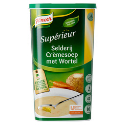 WORTEL-SELDERIJSOEP SUPERIEUR