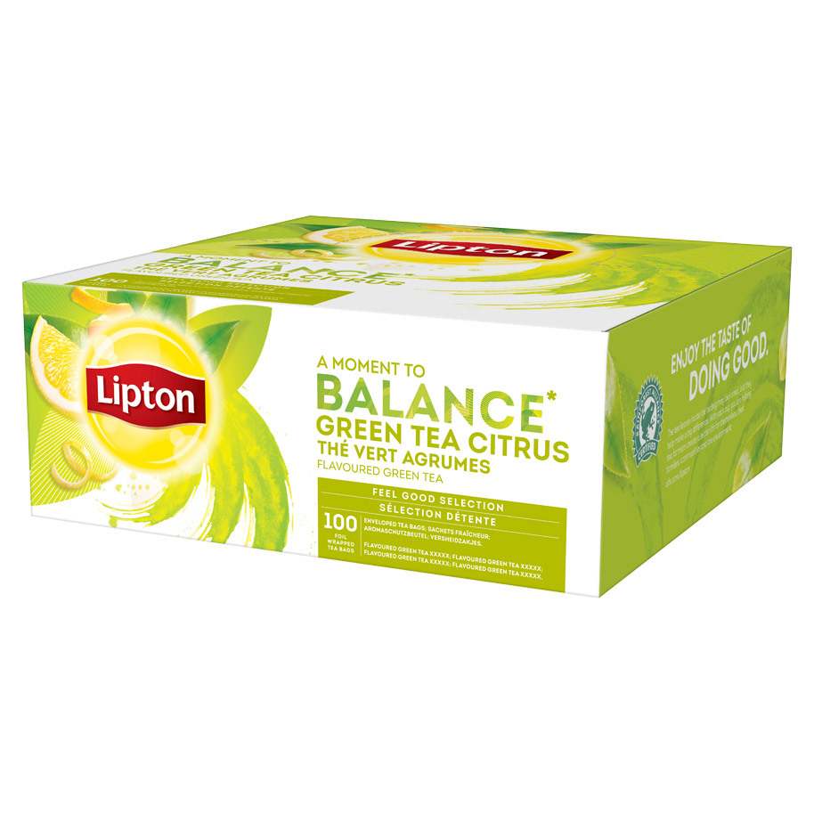 THE GREEN TEA LIPTON