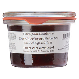 CRANBERRIES BRAMEN CONFITUREN WECKGLAS