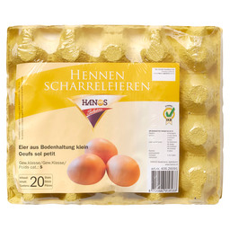 EGGS HENNEN S FREE-RANGE BROWN