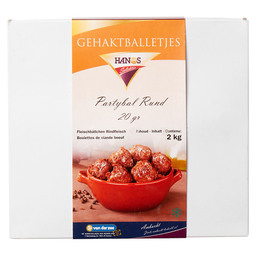 PARTY BALL BEEF 20GR