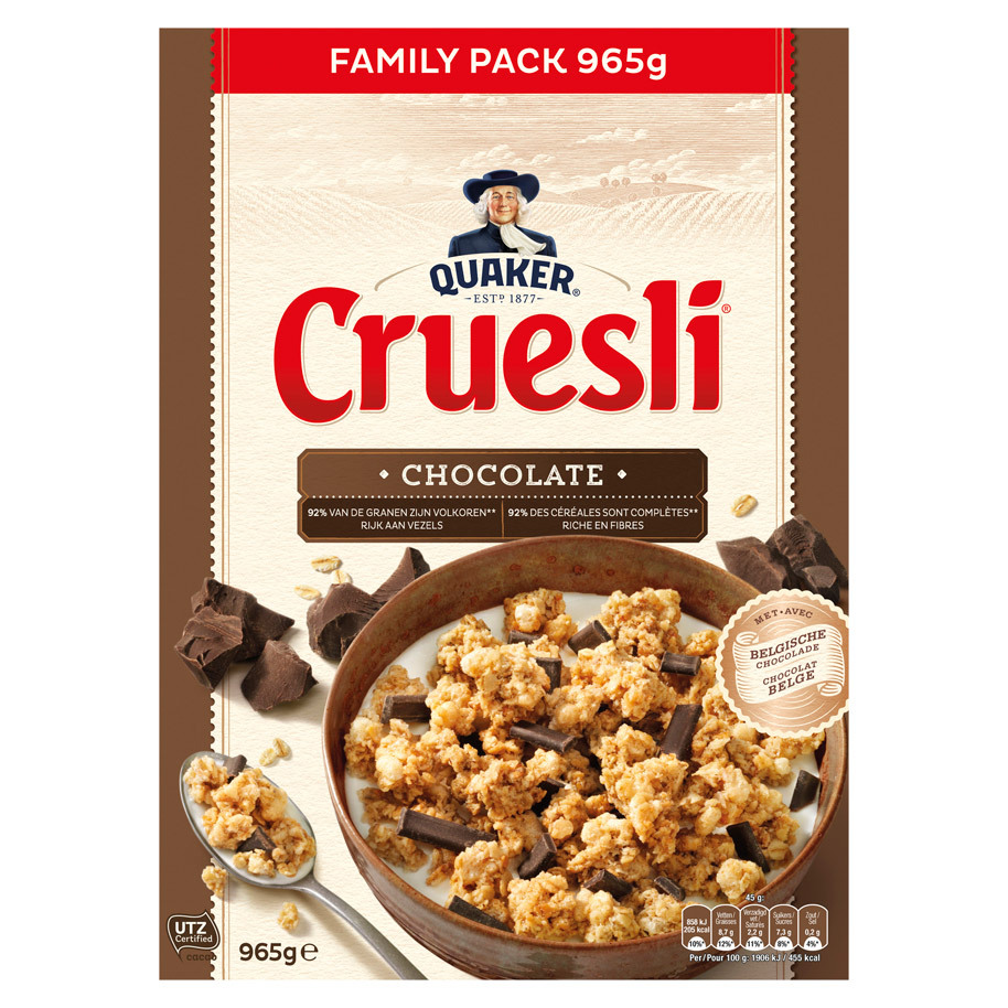 CRUESLI CHOCOLATE VERV: 25401690
