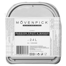 EIS PASSIONSFRUCHT & MANGO SORBET MOVENP