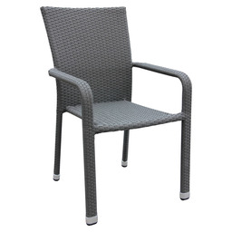 MODUS TERRACE CHAIR -ANTRACITE FL. WEAV.