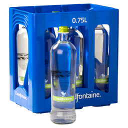 CHAUDFONTAINE LIGHT SPARKLING 75CL GLAS