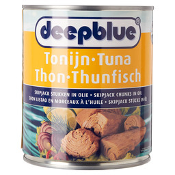 TUNA CHUNKS IN SUNFLOWER OIL D.BLUE