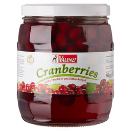 CRANBERRIES VALENZI 24 % SUGAR