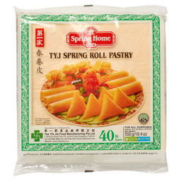 SPRINGROLL SHEETS 215X215MM 40 SHEETS