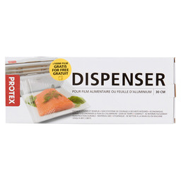 DISPENSER 30CM PROTEX + 100M FOIL ROLL