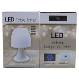 TABLE LAMP LED WHITE