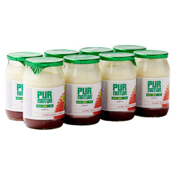YOGHURT STRAWBERRY BIO 150GR PURNATUR