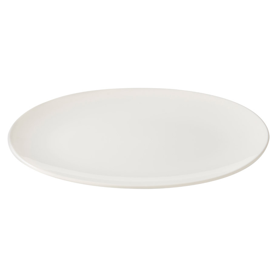 COUPE DELIGHT BORD  WIT OVAAL 30CM