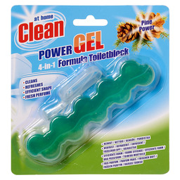 TOILETBLOK POWER GEL 4IN1 PINE